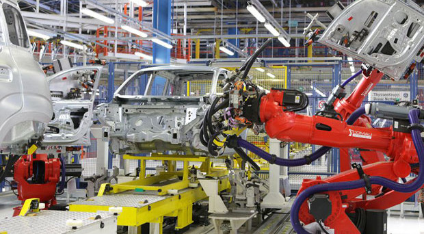 Improvvisa frenata della produzione industriale