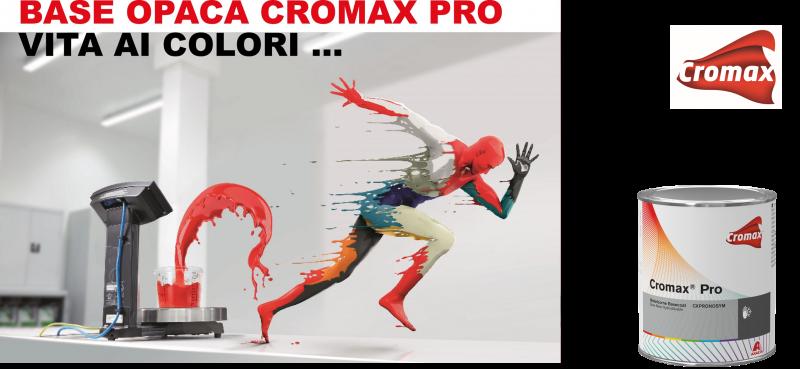 C'è il colore e c'è la base opaca Cromax Pro