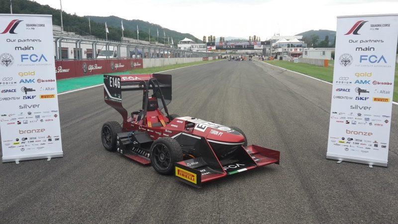 La monoposto del Politecnico di Torino vince la formula Sae Italy 2019 nella categoria vetture elettriche