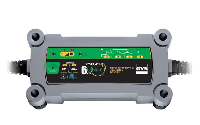 Gysflash Lithium: un nuovo caricabatterie per la tecnologia al litio